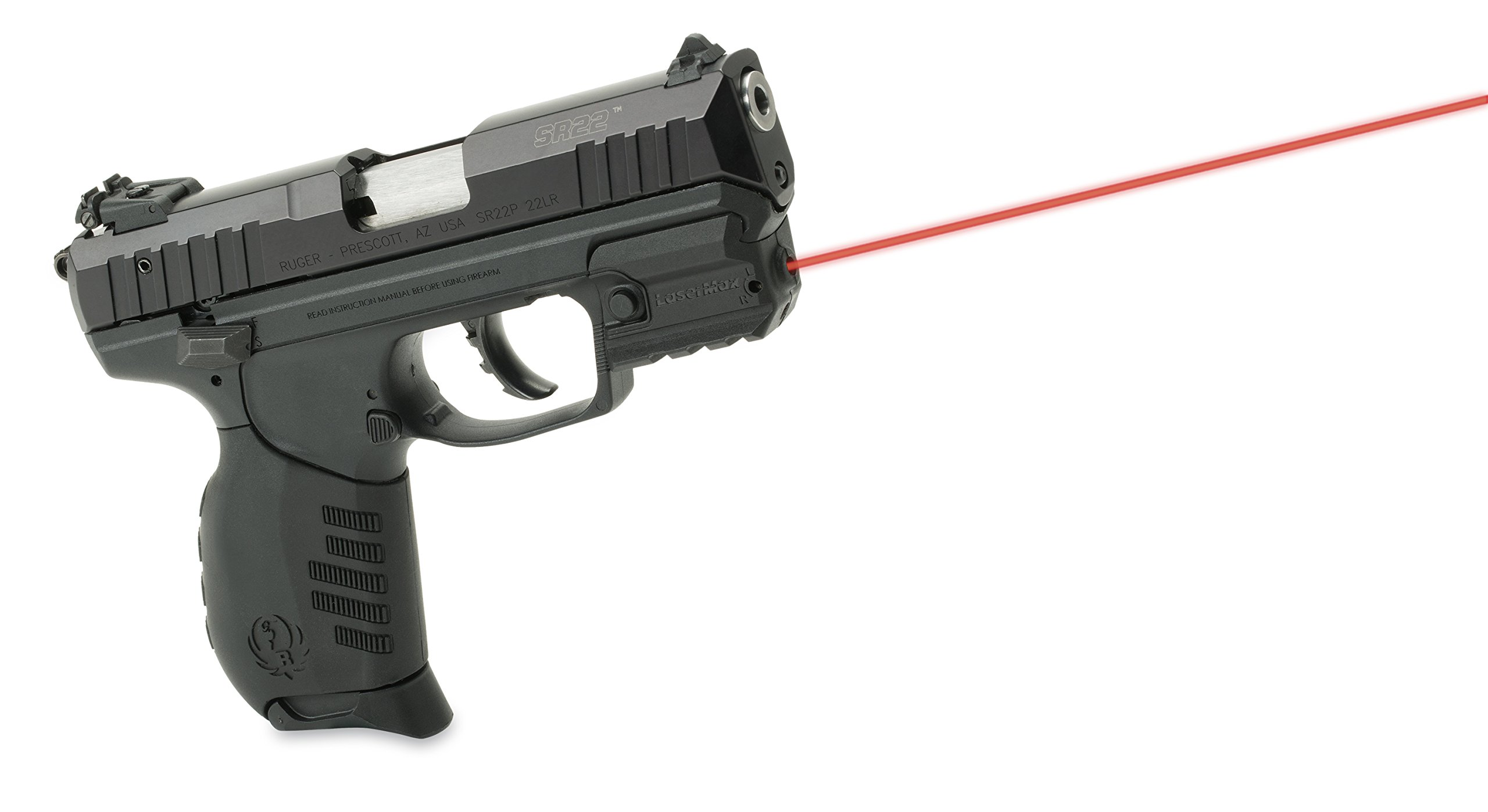 Laser Max LMS-RMSR Rail Mounted Laser (Red) For Ruger SR Series of Handguns by LaserMax (Image #6)