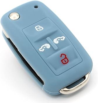 Schlüssel Hülle Ve Für 5 Tasten Auto Schlüssel Silikon Elektronik