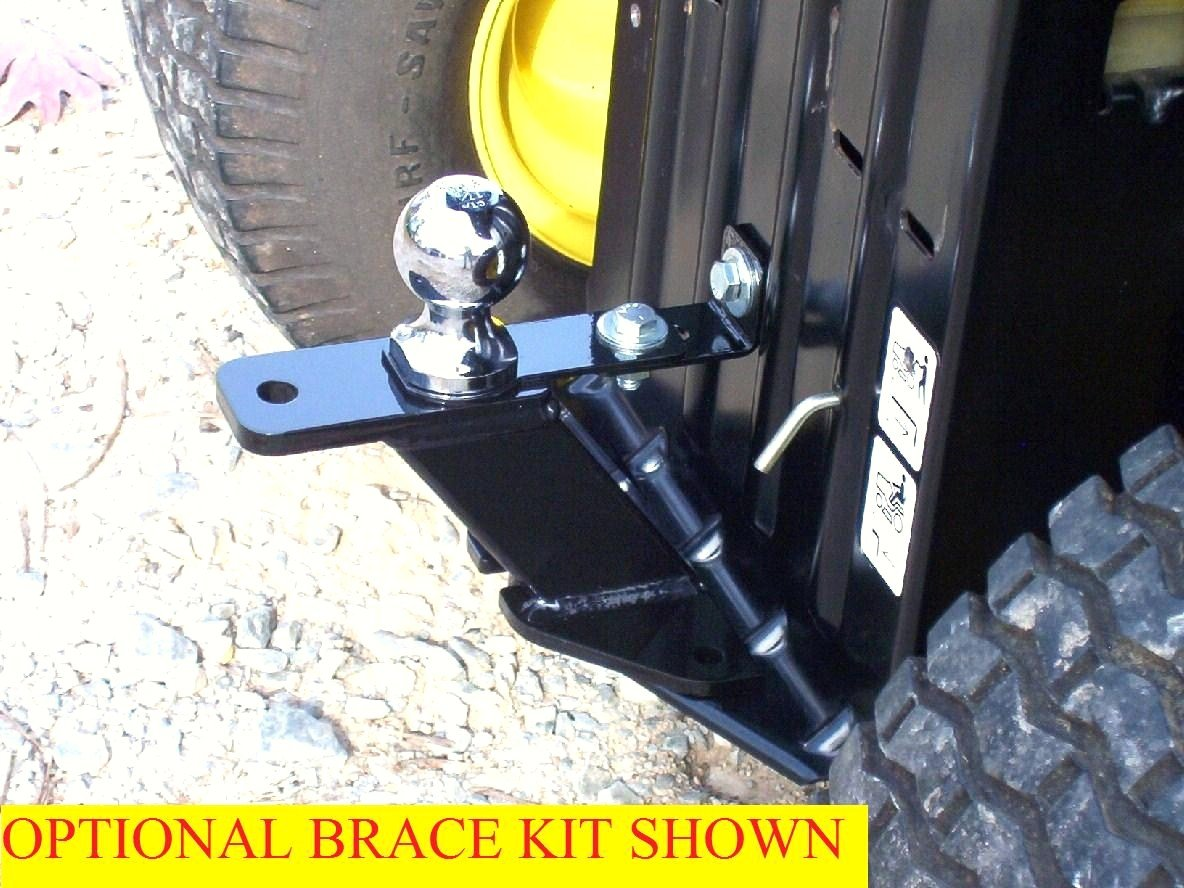 P&M Fabrication Universal Lawn Garden Tractor Hitch by P&M Fabrication