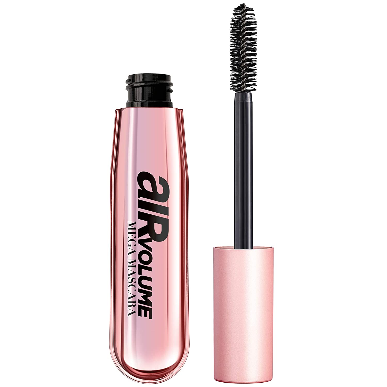 Amazon.com : L'Oreal Paris Air Volume Mega Mascara, Lightweight Mega Volume  Washable, Black, 0.3 fl. oz. : Beauty