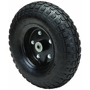 300 lbs 13 in. Pneumatic Tire Wheel with Black Hub Wagons, Hand Trucks and Yard Trailers, Garden, Shop All-Terrain Thread