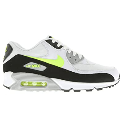 bee4e6830a12 Nike Air Max 90 Essential White Black Mens Trainers Size 11.5 UK   Amazon.co.uk  Shoes   Bags