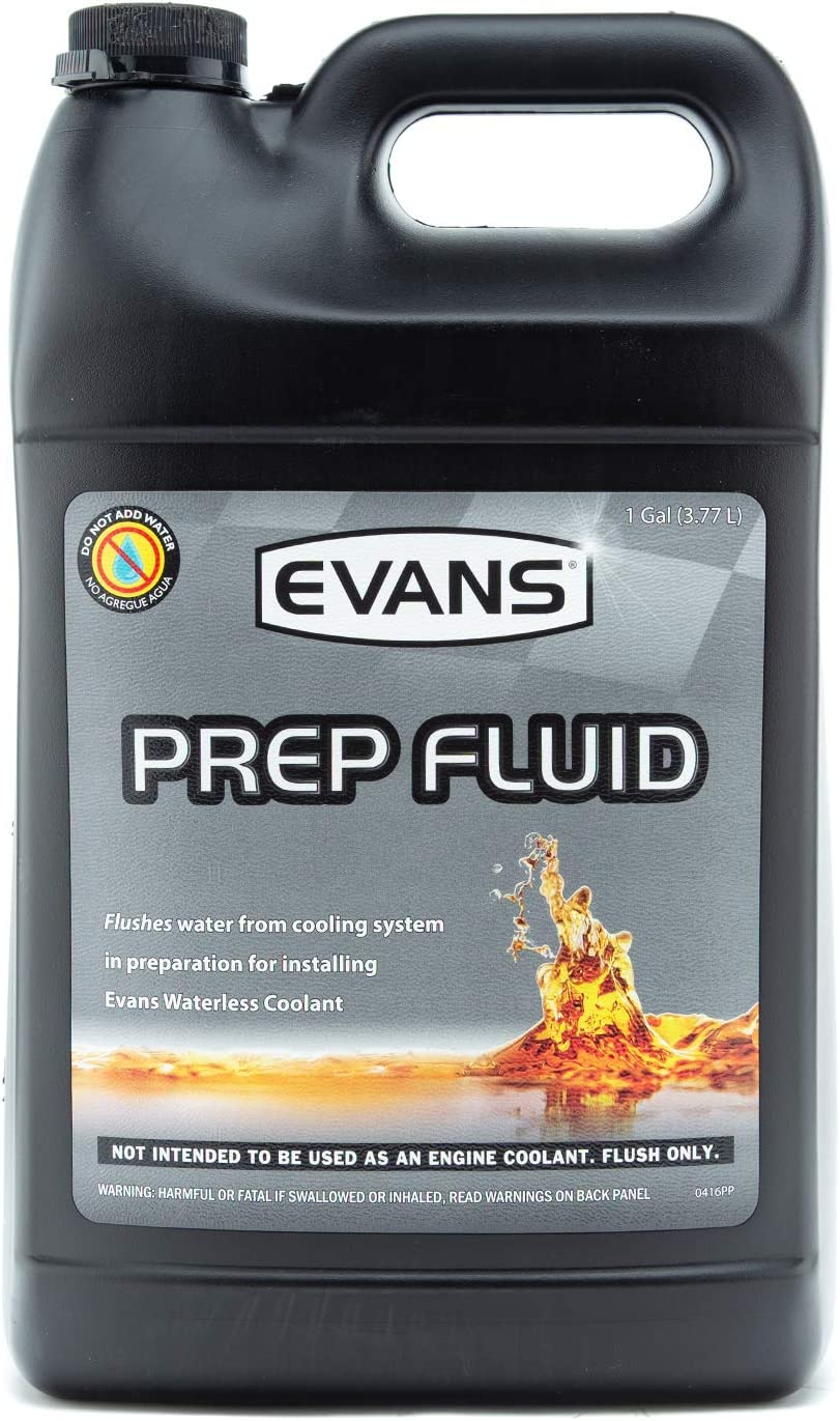 EVANS Cooling Systems EC42001 Waterless Prep Fluid, 128 fl. oz.