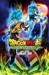 Dragon Ball Super Broly The Movie Glossy Finish Movie Poster -16x25 inch(40cmx63cmc) Frameless Gift