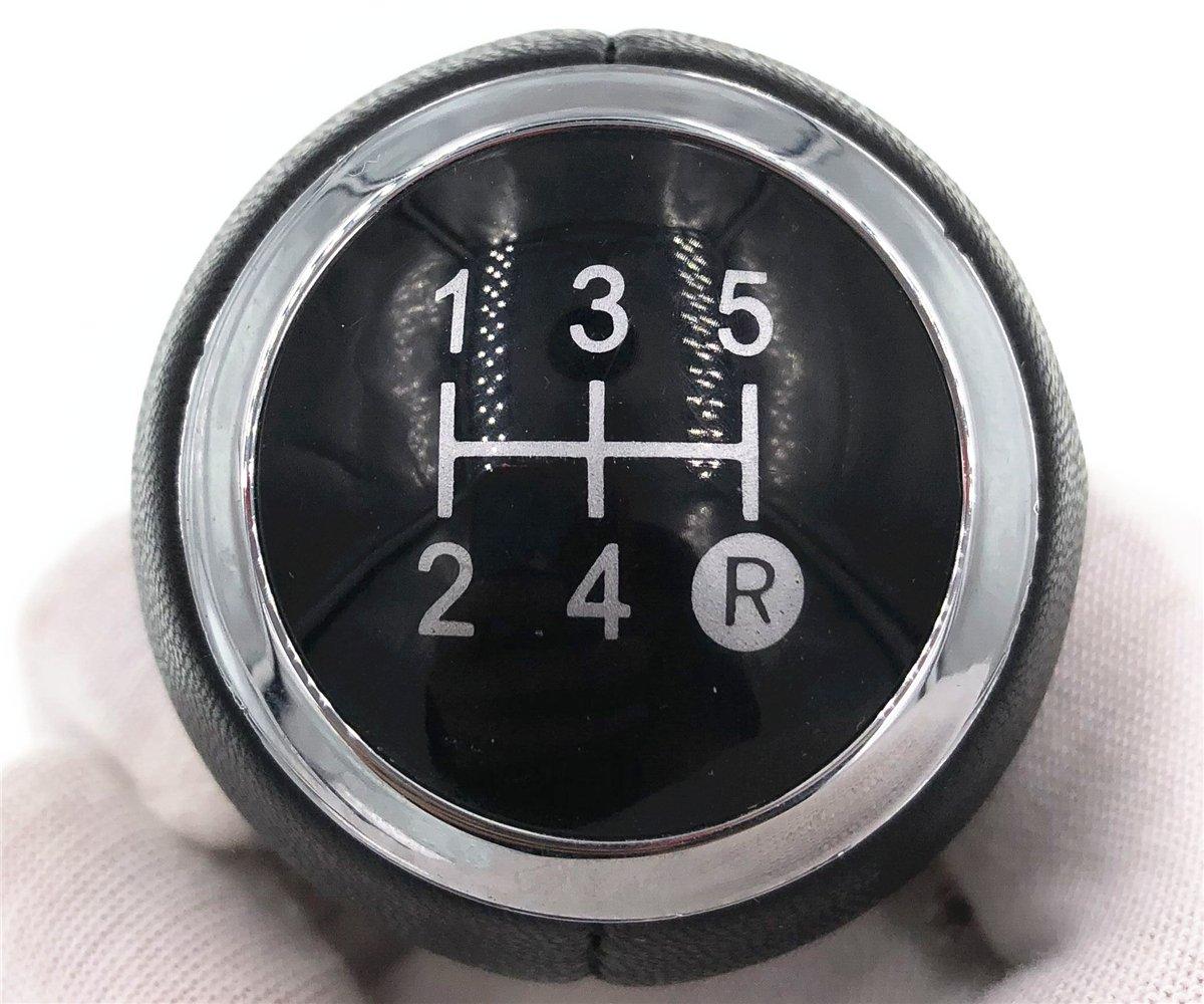 HZTWFC Pommeau de levier de vitesses manuel pour voiture /à 5 vitesses