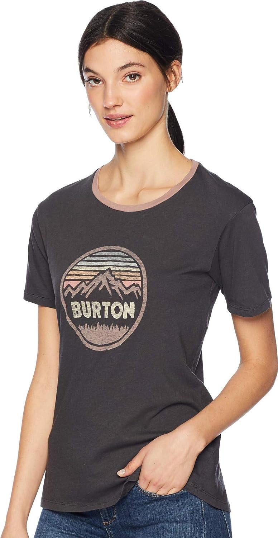 Burton Womens Keeler V-neck Short Sleeve Tee