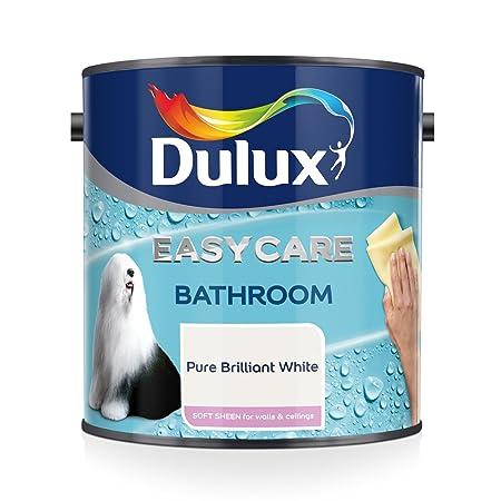 dulux bathroom plus soft sheen paint 2 5 l apple white akzonobel 500001 best christmas gifts 2018. Black Bedroom Furniture Sets. Home Design Ideas