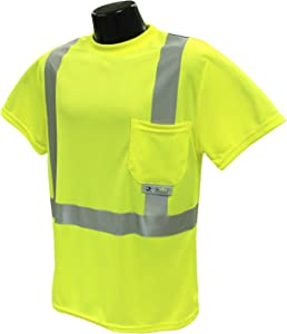 Radians ST11-2PGS-5X Industrial Safety Shirt Short Sleeve