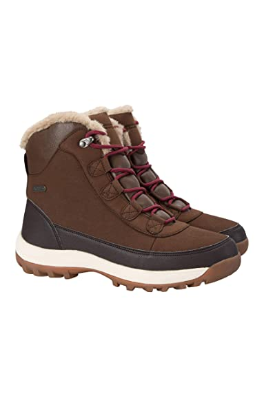 a7919078bfe Mountain Warehouse Aspen Womens Snow Boots - Snowproof, Thermal Test ...