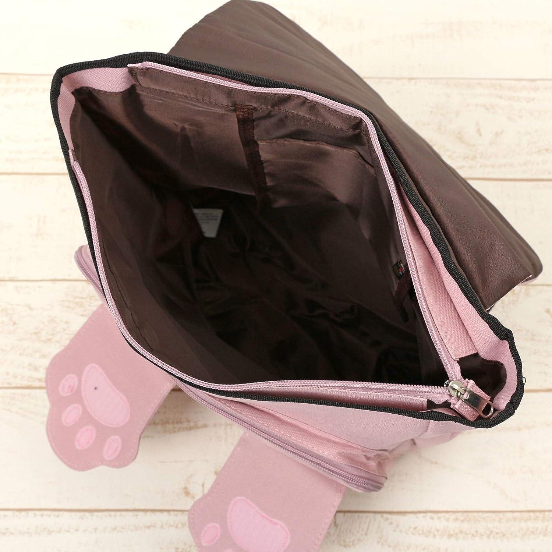 P151171-54 Khaki Osumashi Pooh Chan Peekaboo Rucksack Backpack from Japan