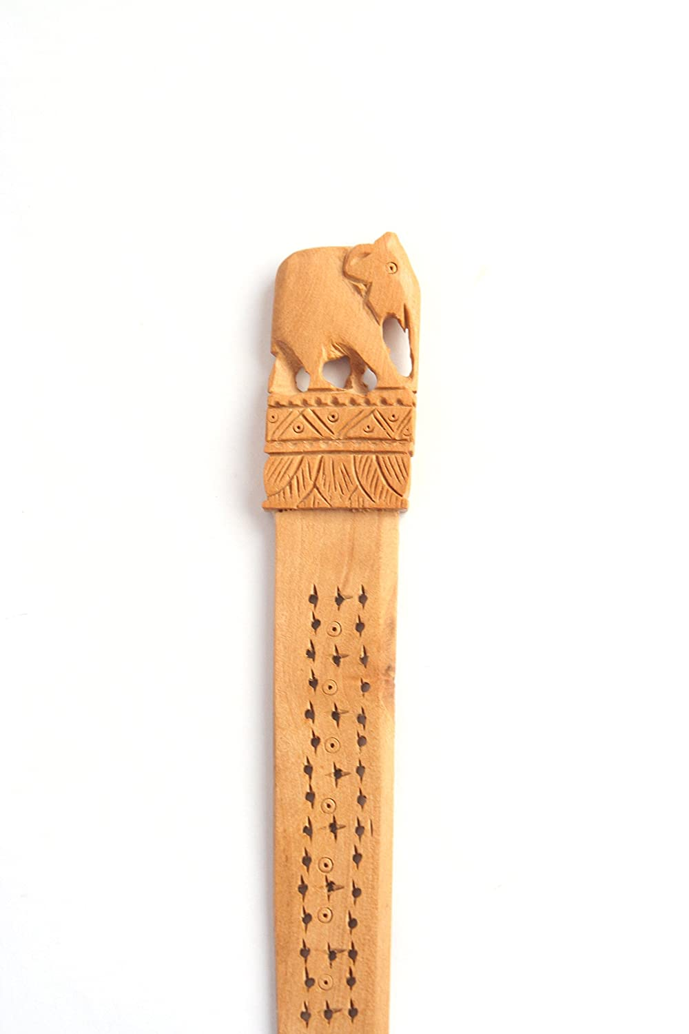 Wooden Elephant Carving Letter Opener Fathers Day Gift