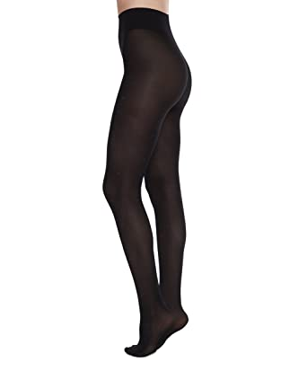 0406b264674 Swedish Stockings Filippa Dots Black Pantyhose 50 Den Luxury Patterned  Tights for Women
