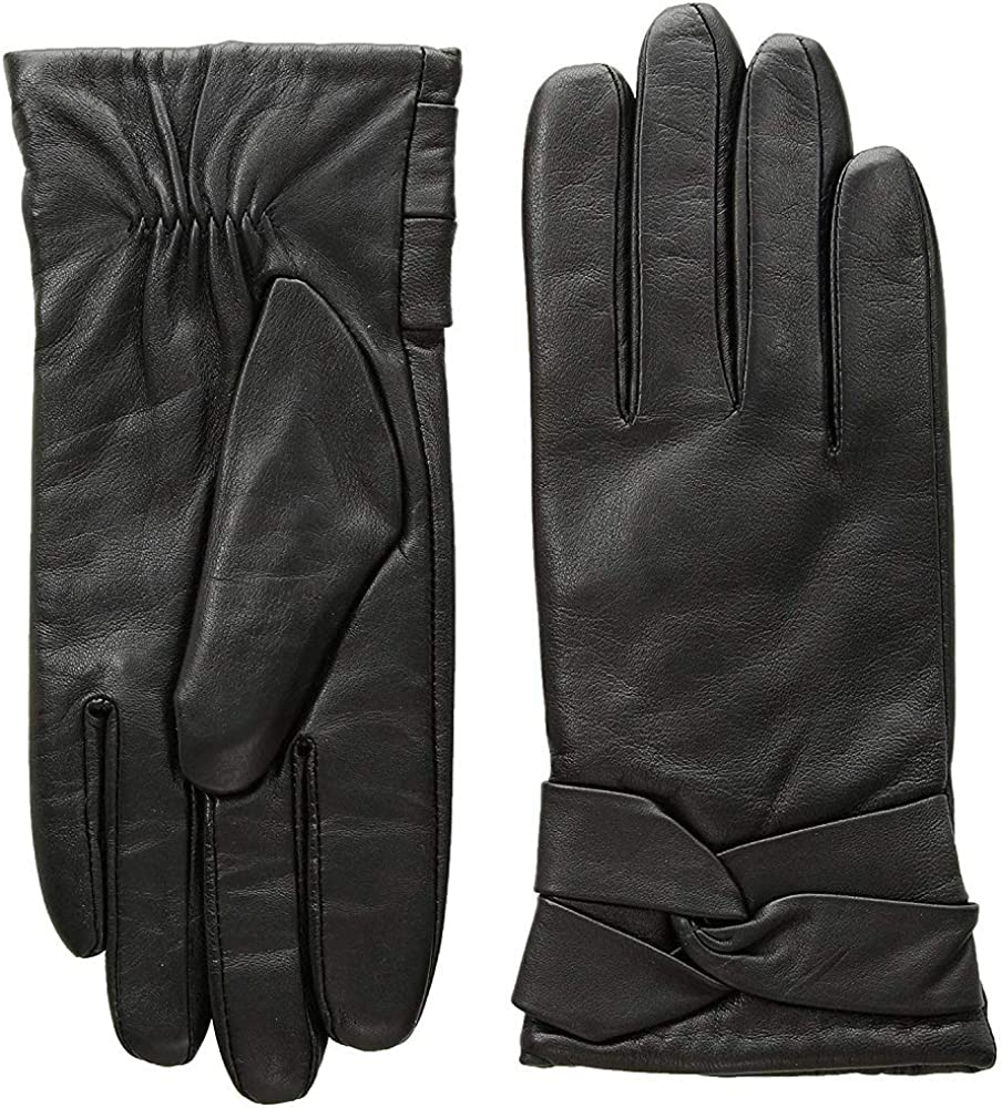 Leather Gloves Winter...