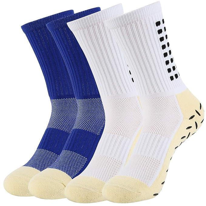 VBIGER 4 pares Calcetines antideslizantes para hombre Calcetines Deportivos de Invierno para Futbol Ciclismo Running Baloncesto: Amazon.es: Ropa y ...