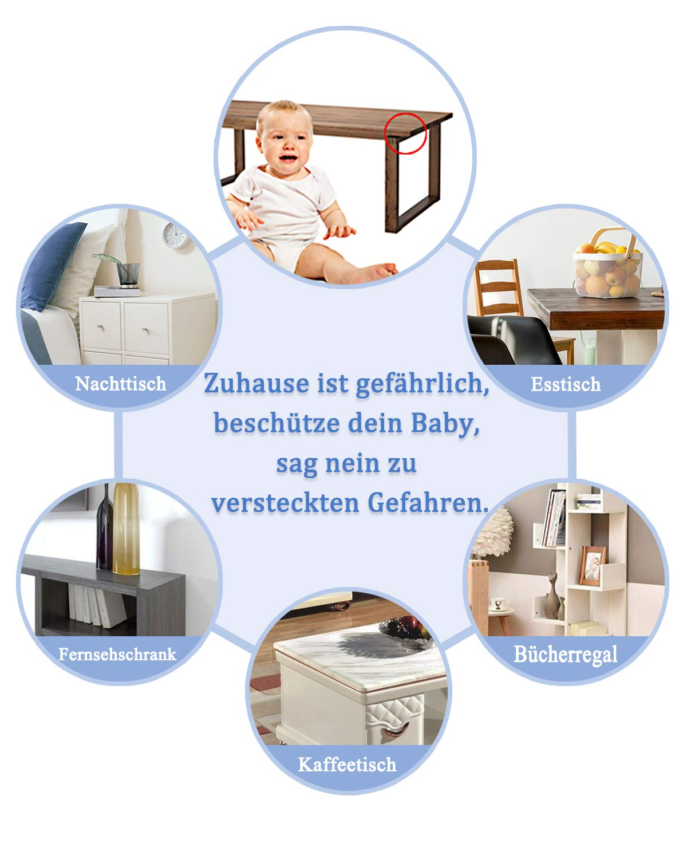Sto/ßschutz f/ür Baby Kinder SURUDI M/öbel Eckenschutz 16 St/ück Kantenschutz Baby Baby Sicherheit Schutz Kantenschutz Transparent Starke Viskosit/ät