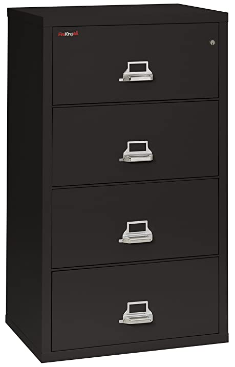 Amazon.com: Fireking Fireproof Lateral File Cabinet (4 Drawers ...