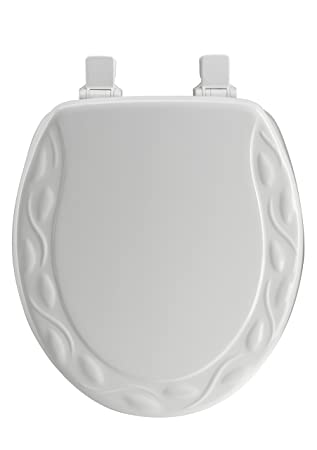 Mayfair 34ECA 000 Ivy Sculptured Molded Wood Toilet Seat featuring ...