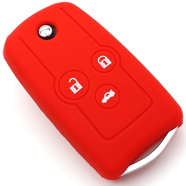 Schlüsselhülle HC Neon Pink Silikonschutz Autoschlüssel Cover Fernbedienung