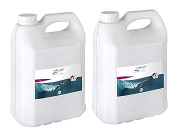 Gre 76010X2 - Pack de Floculante líquido, acción clarificadora del agua, 10 l
