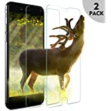 [2 Pack] Benks iPhone 6 6s Screen Protector Tempered Glass Film with 12-Month Replacement Warranty [Crystal Clear] [Anti-Scratch] [Bubble-Free Installation] for iPhone 6s 6 4.7-Inch