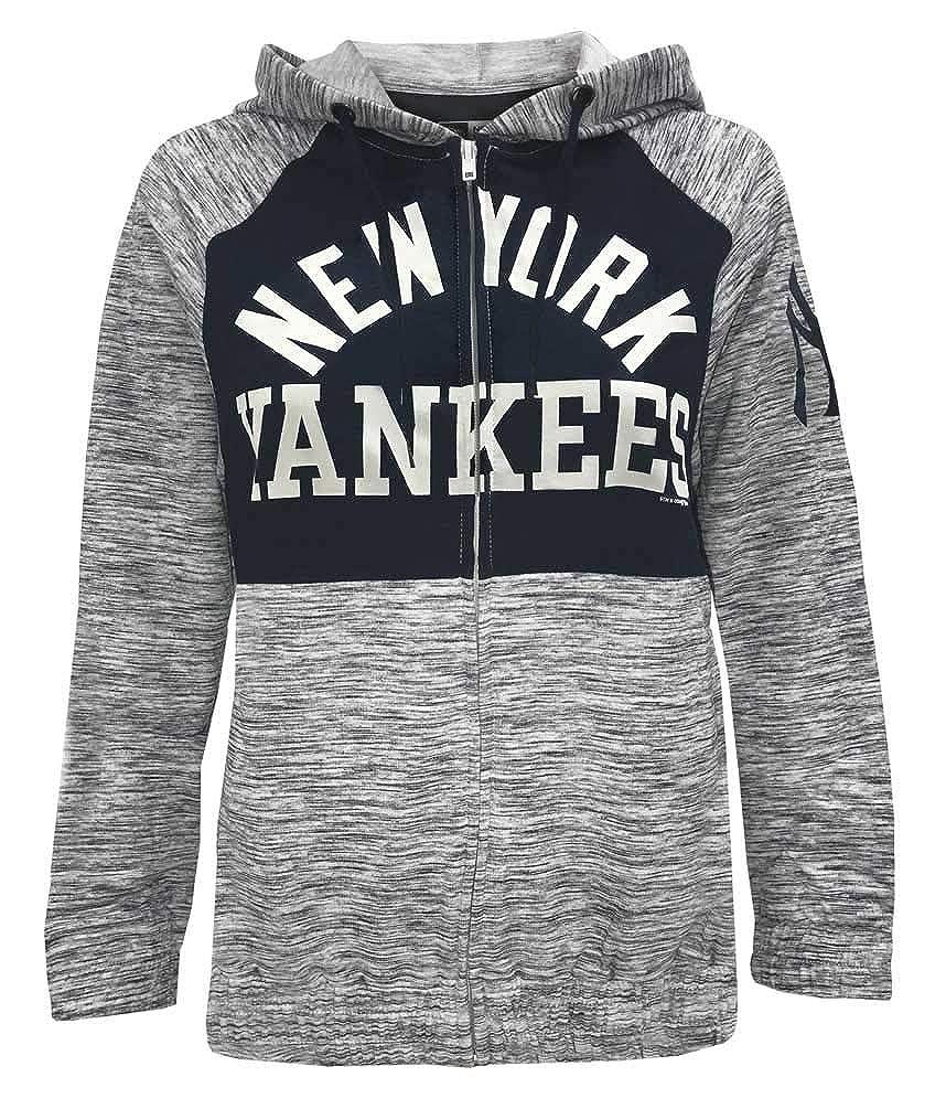 promo code e7fd3 288f8 Amazon.com: New Era Women MLB New York Yankees Full Zip ...