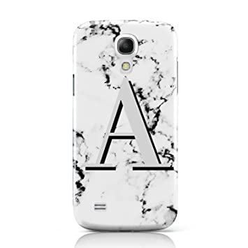 cheap for discount 9e3b1 24f24 PERSONALISED GREY LARGE INITIAL MARBLE PHONE CASE FOR: Amazon.co.uk ...
