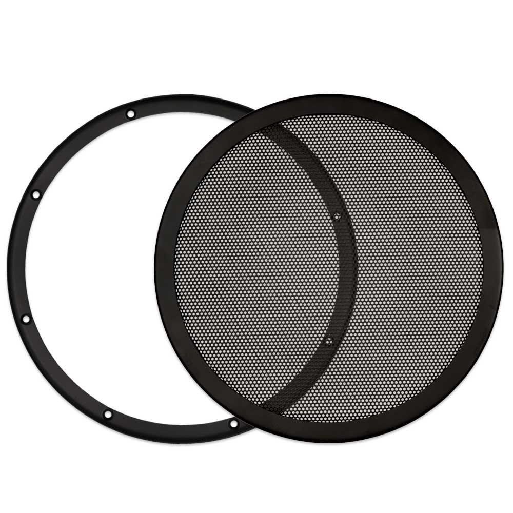 Goldwood Snap On 10'' Subwoofer Grille Steel Mesh Speaker Black (SGM10)