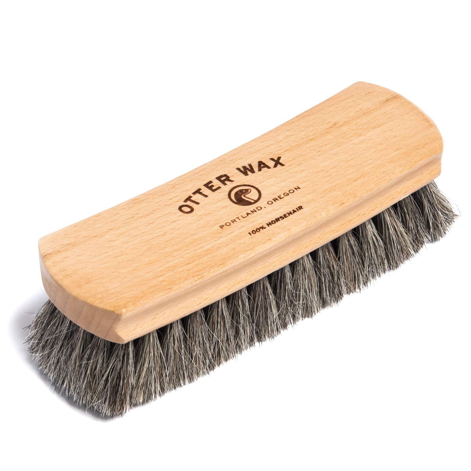 Cepillo para zapatos de crin de cera Otter Wax