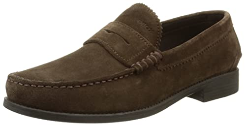 Mocasines para hombre, color marrón (chestnut), talla 42 EU (8 UK
