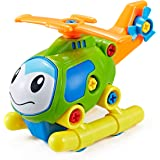 Think Gizmos Take Apart Toys Range - Build Your Own Toy Kit for boys and Girls aged 3 4 5 6 7 8 (Helicopter)