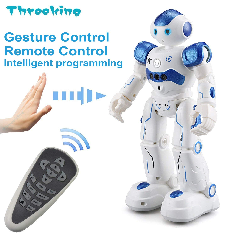 Threeking Smart Robot Gesture Control Remote Control Robot