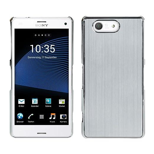 6 opinioni per kwmobile Custodia per Sony Xperia Z3 Compact- Backcover hard case per cellulare