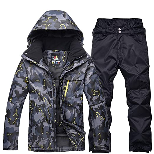 Plus Size Jacket and Pant Men Snow Suit Outdoor Sports Special Snowboarding  Sets Windproof Waterproof Ski b707fcb50