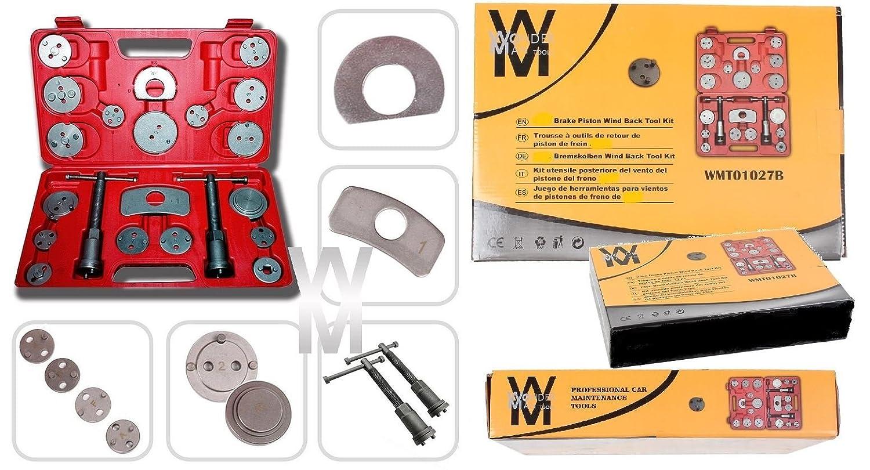 Wondermantools® Set di ripristino pistone del freno 23 pezzi Wonderman Tools