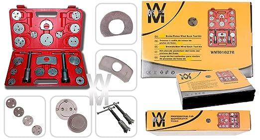 9 opinioni per Wondermantools® Set di ripristino pistone del freno 22 pezzi