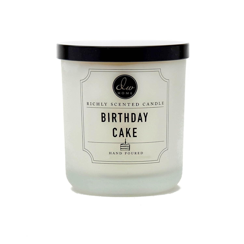 DW ホーム バースデーケーキ リッチな香り キャンドル S サイズ シングル灯心 手作り 4 オンス B01KKJD6HY