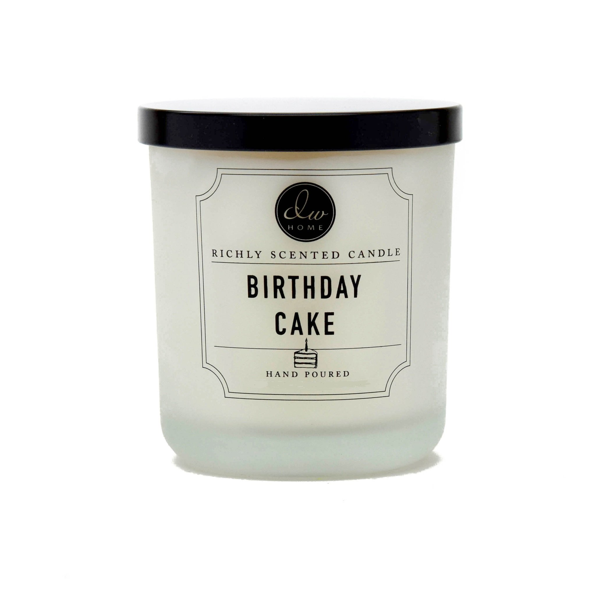Amazon Dw Home Birthday Cake Richly Scented Candle Small Single Wick Hand Poured 4 Oz Kitchen