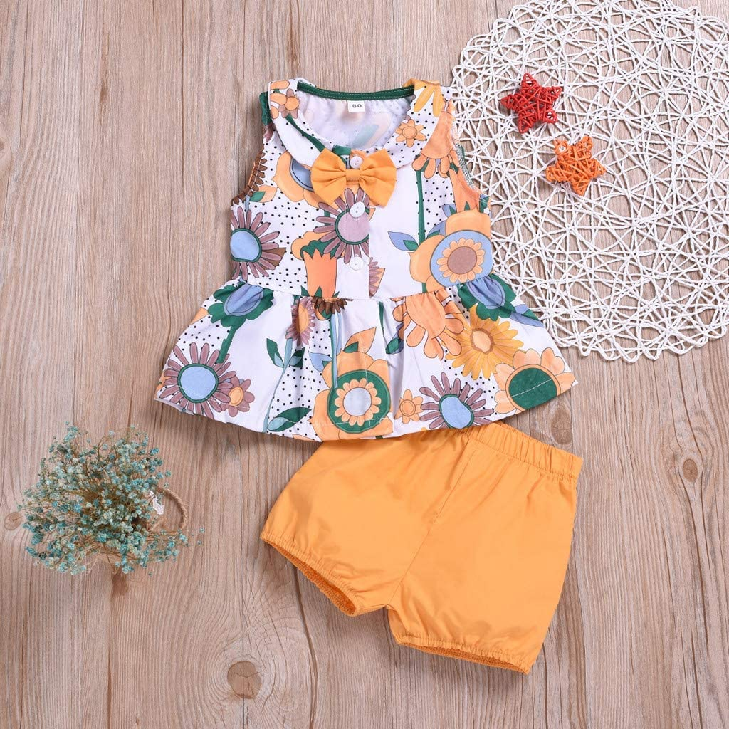 Denim Pants Ripped Jeans Womola Baby Girl Clothes 2pcs Outfits Sleeveless Backless Striped Tank Top