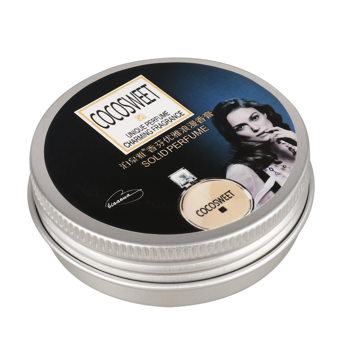 ROSENICE Solid Perfume Women Lady Solid Fragrance