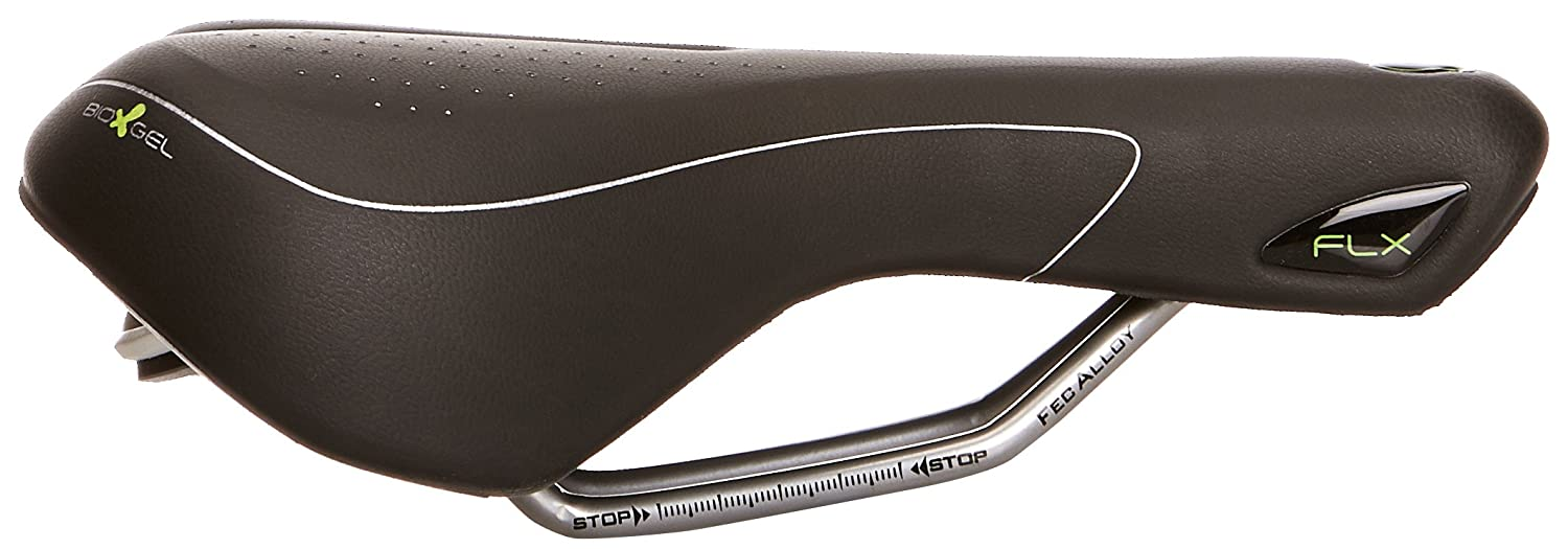 Skin Black Vittoria Industries North America 20I121N301BEC001 selle ITALIA Womens FLX Gel Saddle