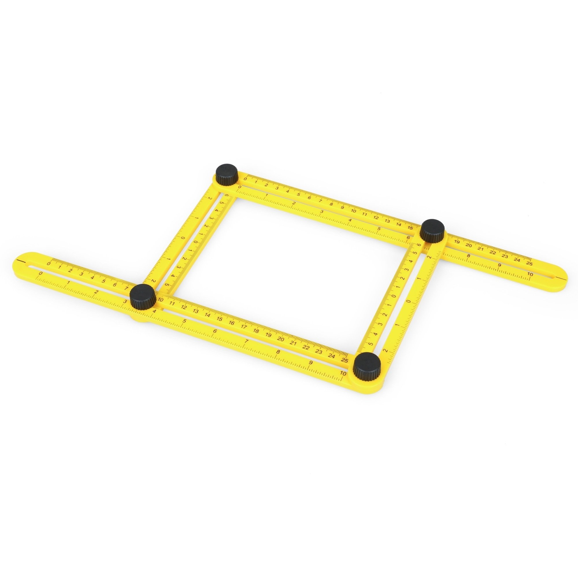 VINIUVI Angle-izer Template Tool, Ultimate Multi-Angle Measuring Ruler for Builders, Craftsmen and DIY-ers
