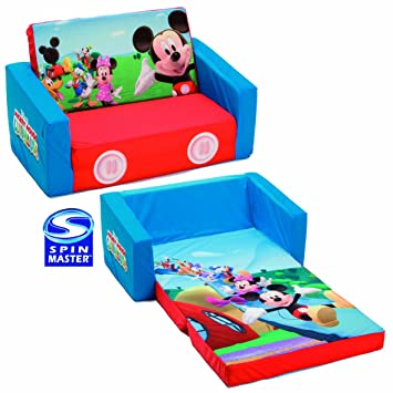 spinmaster mes premiers fauteuils canap lit en tissu canap lit mickey - Fauteuil Mickey