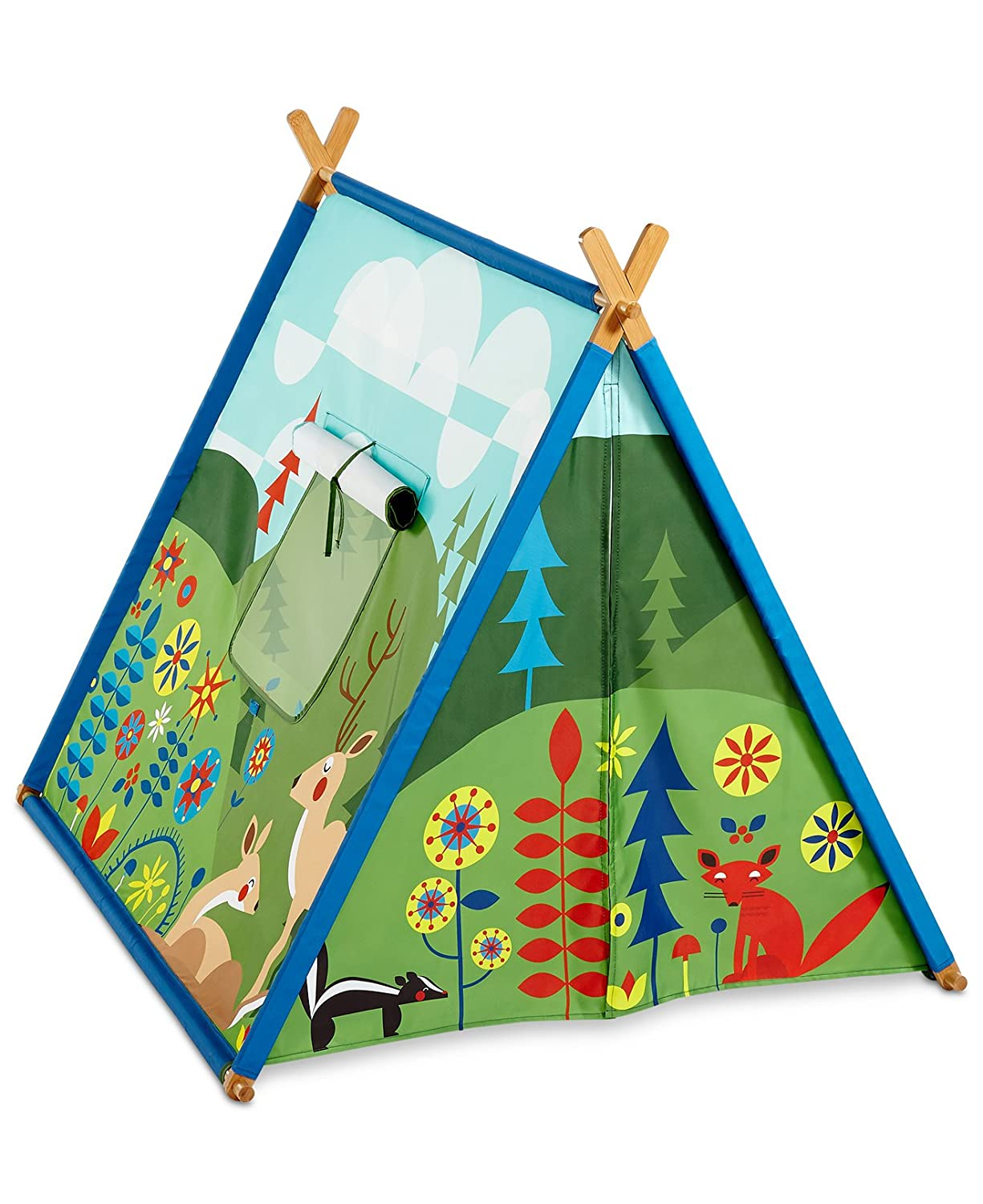Amazon.com Kid Made Modern Friendly Fields Woodland Childrenu0027s Play Fort Tent Toys u0026 Games  sc 1 st  Amazon.com & Amazon.com: Kid Made Modern Friendly Fields Woodland Childrenu0027s Play ...
