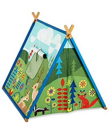 Kid Made Modern Friendly Fields Woodland Childrenu0027s Play Fort Tent  sc 1 st  Amazon.com & Amazon.com: Kid Made Modern Friendly Fields Woodland Childrenu0027s ...