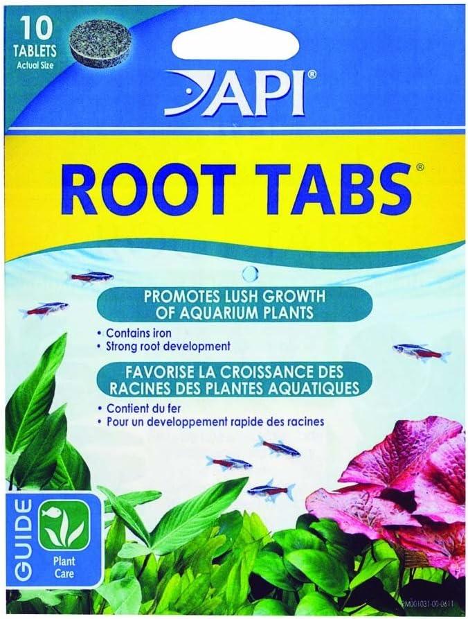 API 3 Pack Root Tabs Freshwater Aquarium Plant Fertilizer, 10 Tablets Per Box