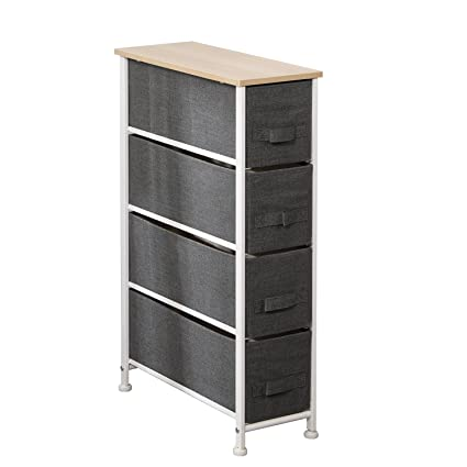 Soges 4 Drawer Storage Organizer Unit For Bedroom, Closets, Entryway, Free  Standing