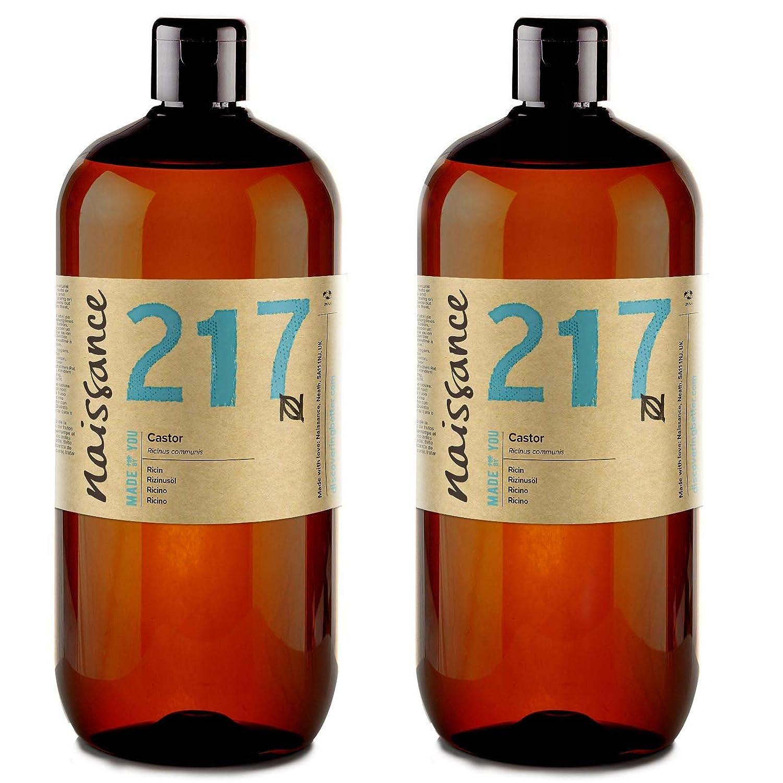 Naissance Aceite de Ricino 2 x 1 Litro - Puro, natural, vegano, sin hexano, no OGM - Hidrata y nutre el cabello, las cejas y las pestañas: Amazon.es: Salud ...