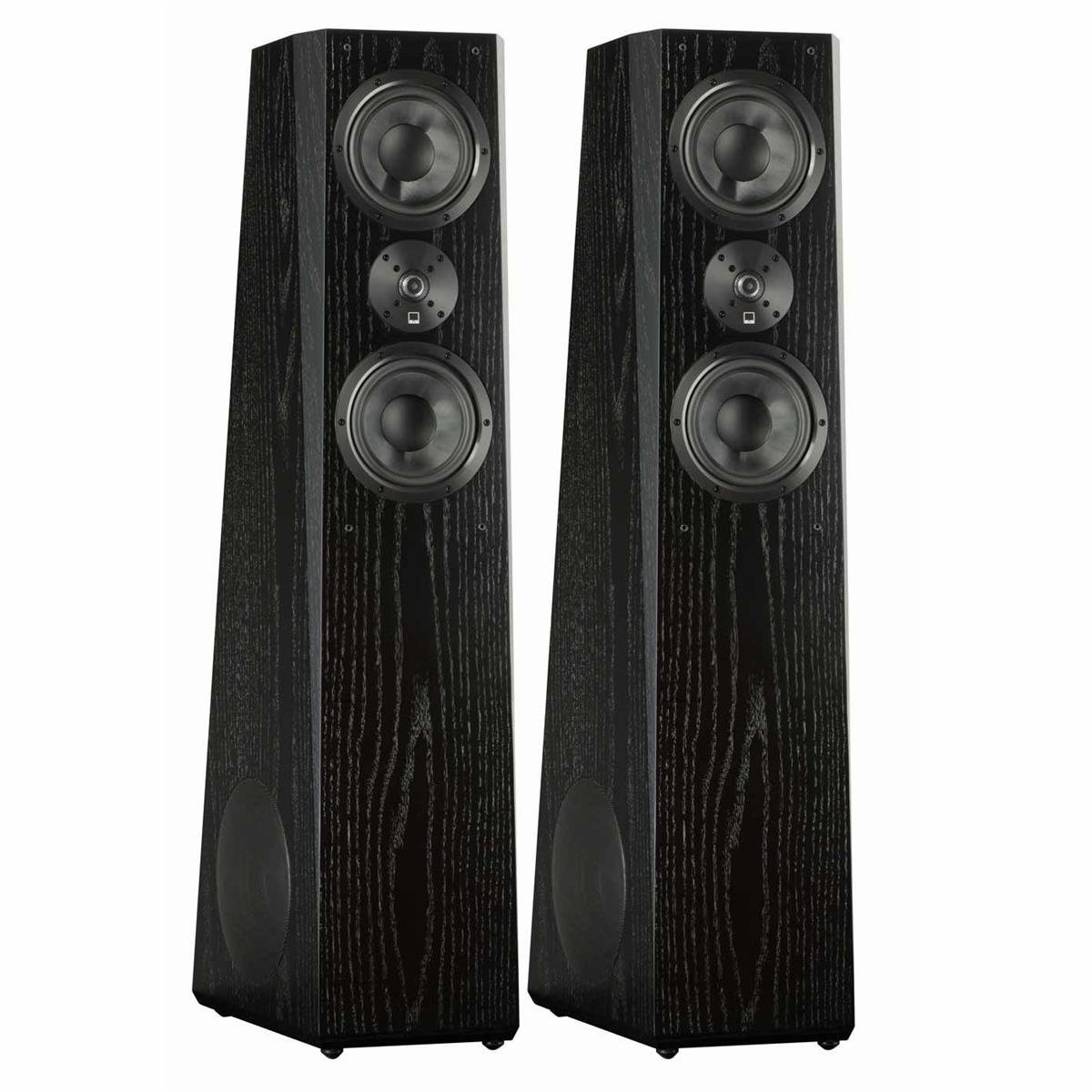 SVS Ultra Tower Flagship 3-Way Loudspeaker (Black Oak Pair)