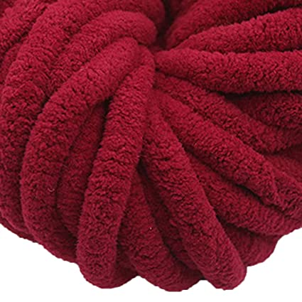 Amazoncom Chenille Yarn Jumbo Yarn Baby Yarn Knitting Baby