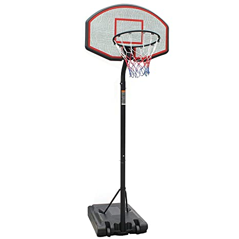 Canasta de baloncesto con soporte y tablero profesional ...
